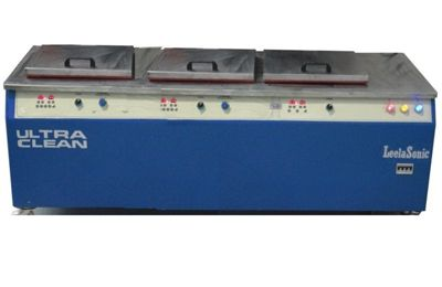 two stage ultrasonic cleaning machine