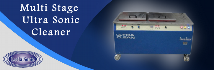 multi stage ultrasonic cleaner